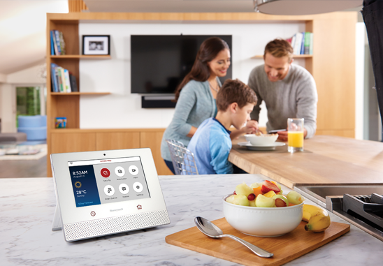 Honeywell Wireless Home Security Panel